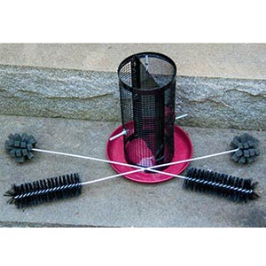 Double-Duty Feeder Brushes - <br>(2 brushes)