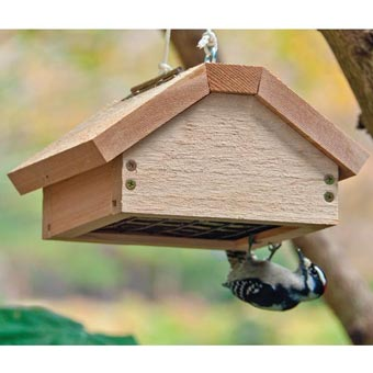 Upside-Down Single Suet Feeder