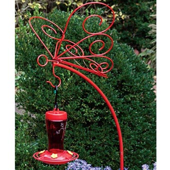 Butterfly Hanger & Perfect Hummingbird Feeder
